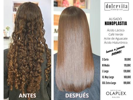 Alisado Nanoplastia, Alisa y Repara tu cabello gracias a la nanotecnología
