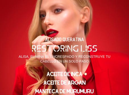 Nuevo Alisado de Queratina y Colágeno, alisa, elimina el encrespamiento y restaura tu cabello en un