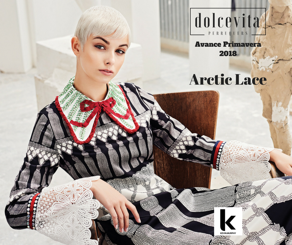 Art School Arctic Lace Dolce Vita Perruquers