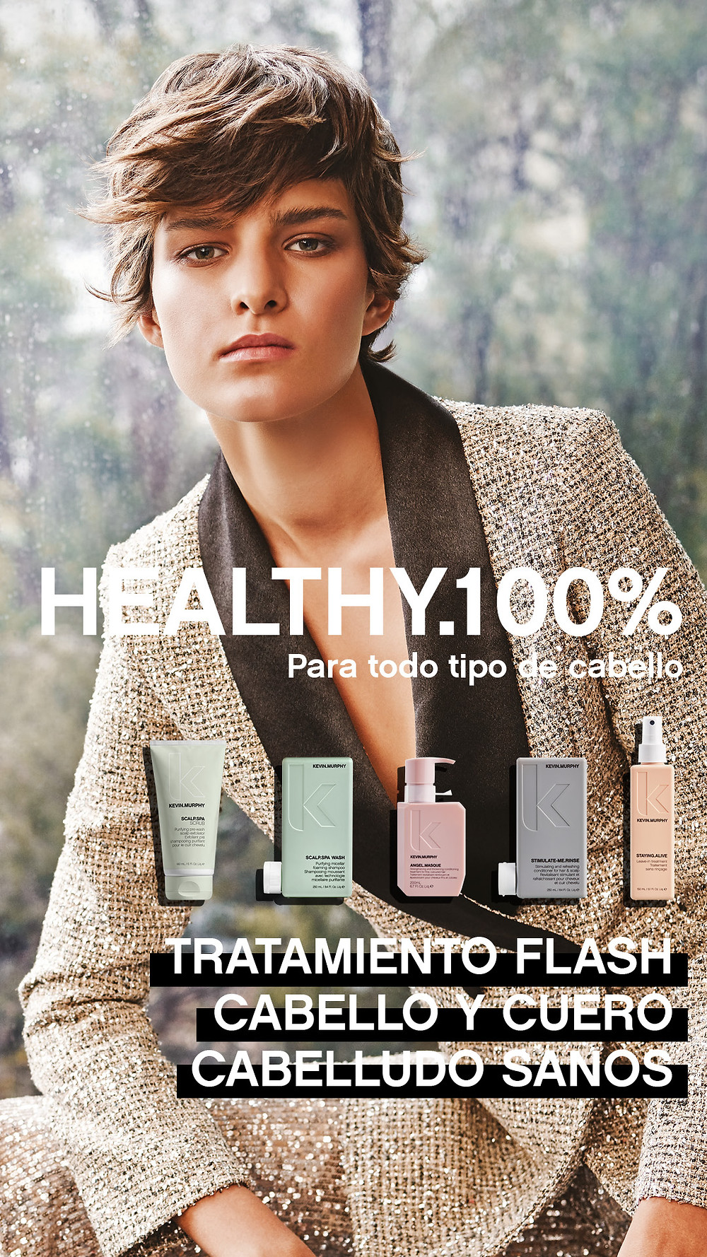 Healthy.100% Kevin Murphy Dolce Vita Perruquers
