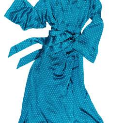 Silk dressing gown Alice & Astrid