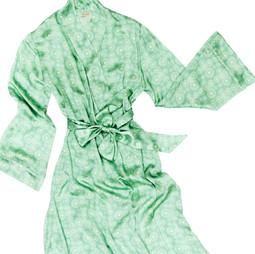 Alice & Astrid silk dressing gown