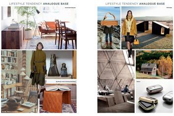 Mood board fashion and interior