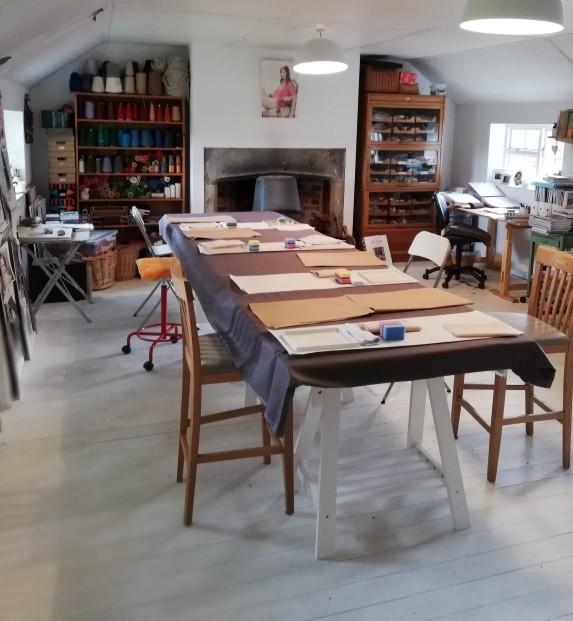 Astrid Blake's studio and creative workshops