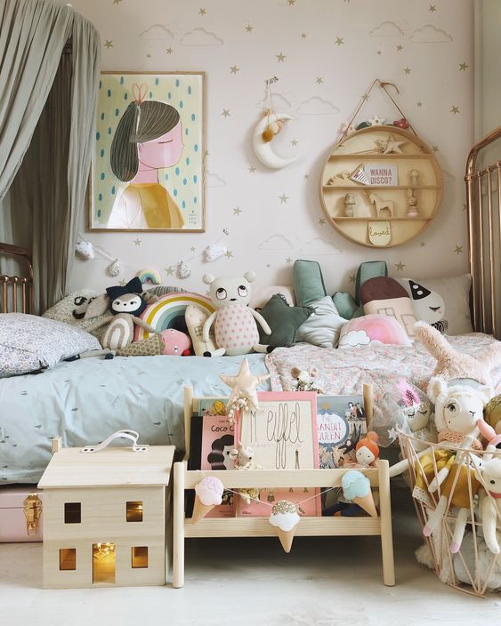 child's bedroom colour inspiration