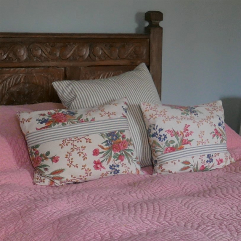 country style cushions Astrrid Blake