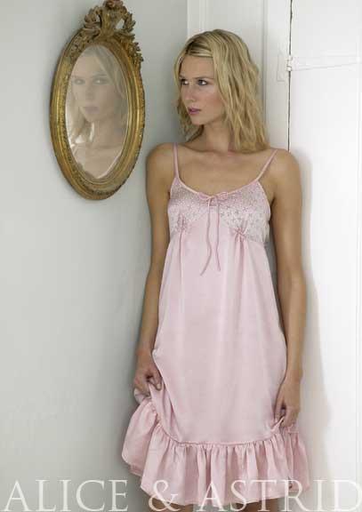 Alice & Astrid silk nightie luxury nightwear