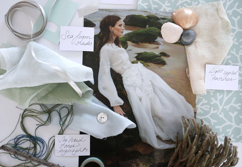 Wedding mood board Astrid blake