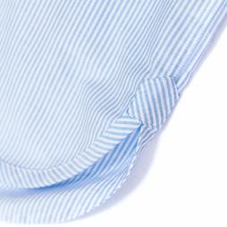 detail of Oxford stripe nightshirt Alice & Astrid