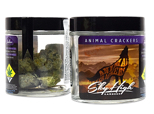 Sky High Gardens Animal Crackers indica hybrid flower 3.5g