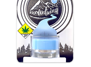 Mountain Hi CBD crystalline isolate 1g blueberry