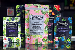 Smokiez Edibles 10 pack fruit chews - THC gummies, CBD gummies, Delta 8 edibles