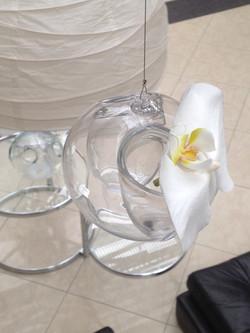 suspension fleuron d'orchidée