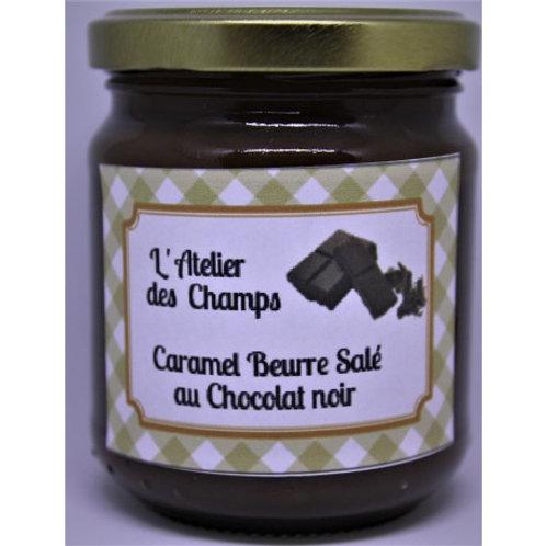 Caramel beurre salé aux noisettes torréfiées 200 g