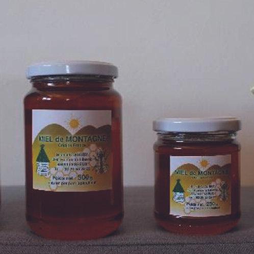 Miel de Montagne 250 et 500g