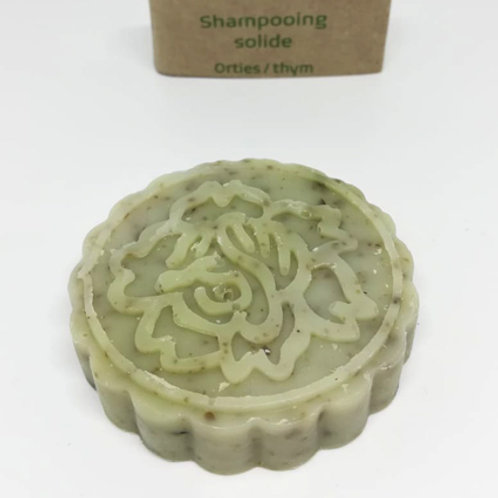 Shampooing solide orties/thym