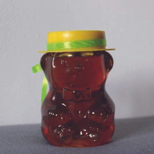 Miel de fleurs contenant ourson