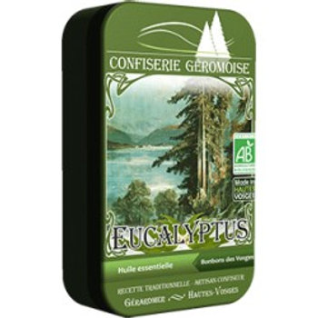 Bonbons eucalyptus BIO