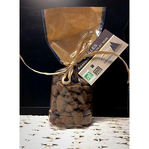 Chocolat Noir enrobé Amandes BIO