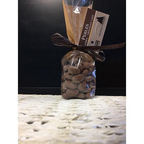 Chocolat Lait enrobé Amandes BIO