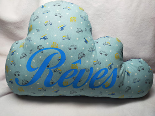 Coussin nuage Rêves