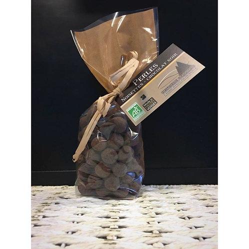 Chocolat Noir enrobé Noisettes BIO