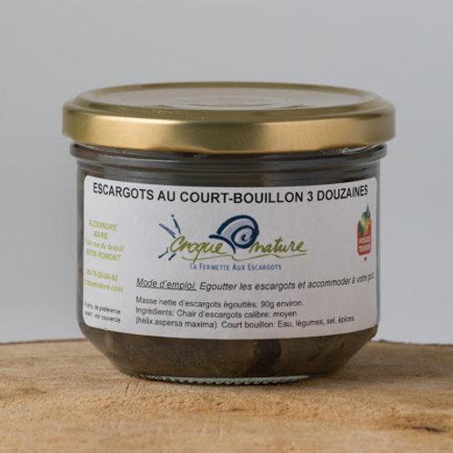 Escargots court-bouillon 3 ou 5 dz