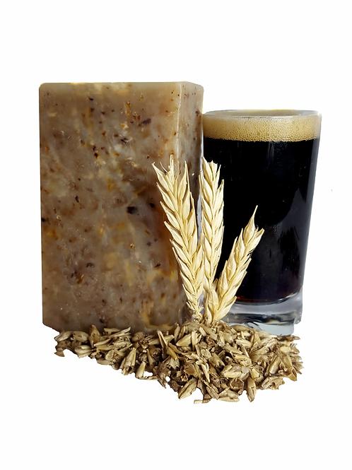 NINKHASY - Savon Naturel exfoliant à la bière des Vosges et à la drèche