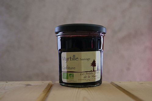 Confiture de Myrtille Sauvages BIO