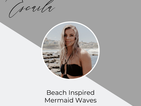 Beach Inspired Mermaid Waves