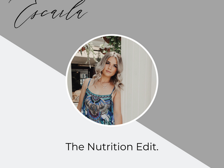 The Nutrition Edit.