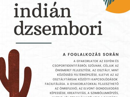 Indián dzsembori - SocLab óraterv