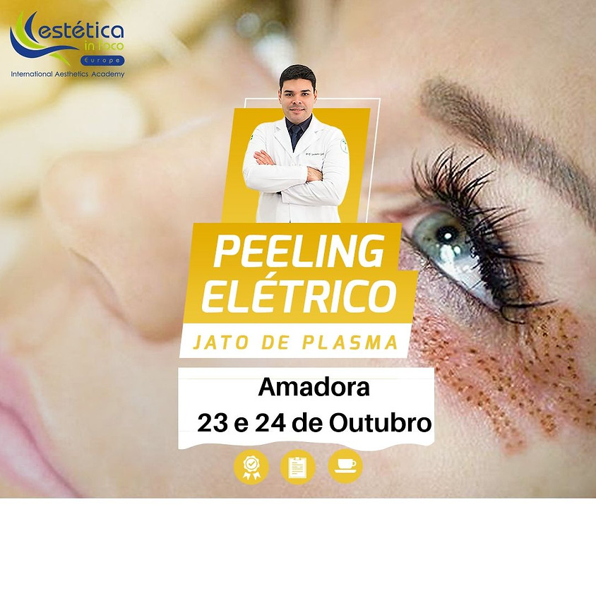 Peeling Elétrico Jato de Plasma