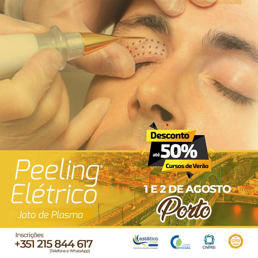 Peeling Elétrico - Jato de Plasma  Porto