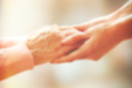 Reliance Home Healthcare Holding Your Hand