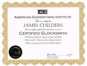 Glocksmith course certificate04022019.jp
