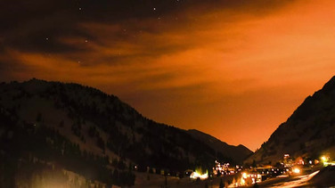 Alta at Sunset