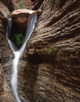 Saddle Canyon Waterfall