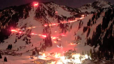 Alta Torch Light Parade