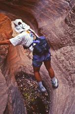 SealPak in canyon