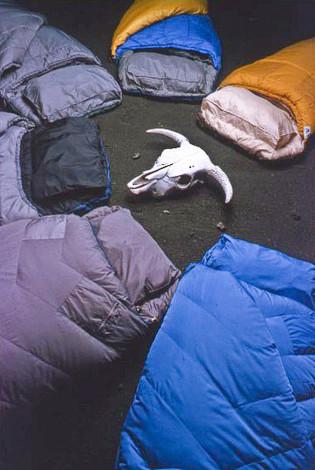 Black Ice sleeping bags