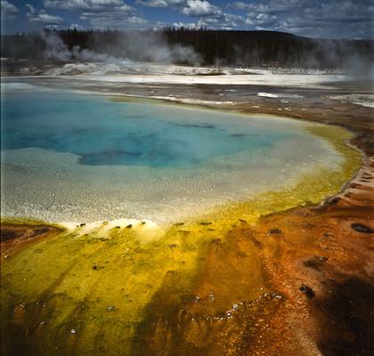 Thermal pool, Yellowstone