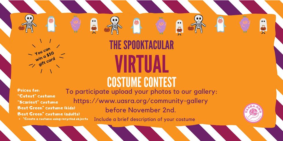 Spooktacular Virtual Costume Contest