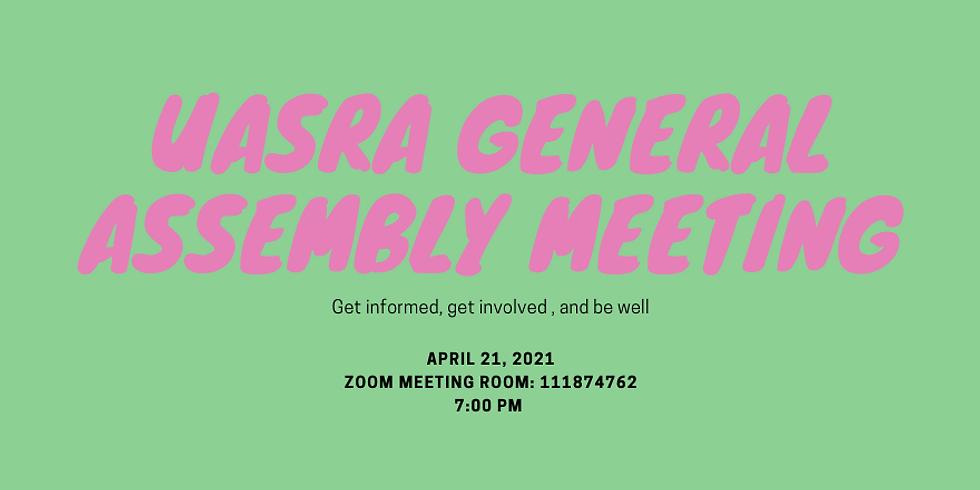 April-UASRA General Assembly Meeting