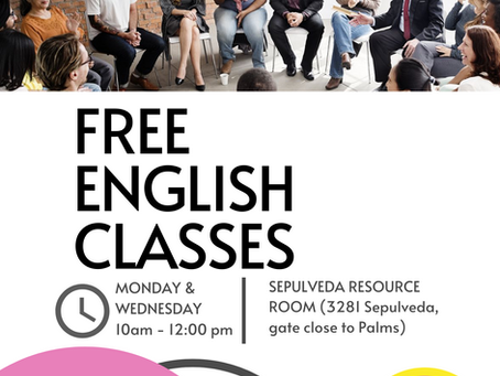 Register for Fall 2021 English Classes Today!