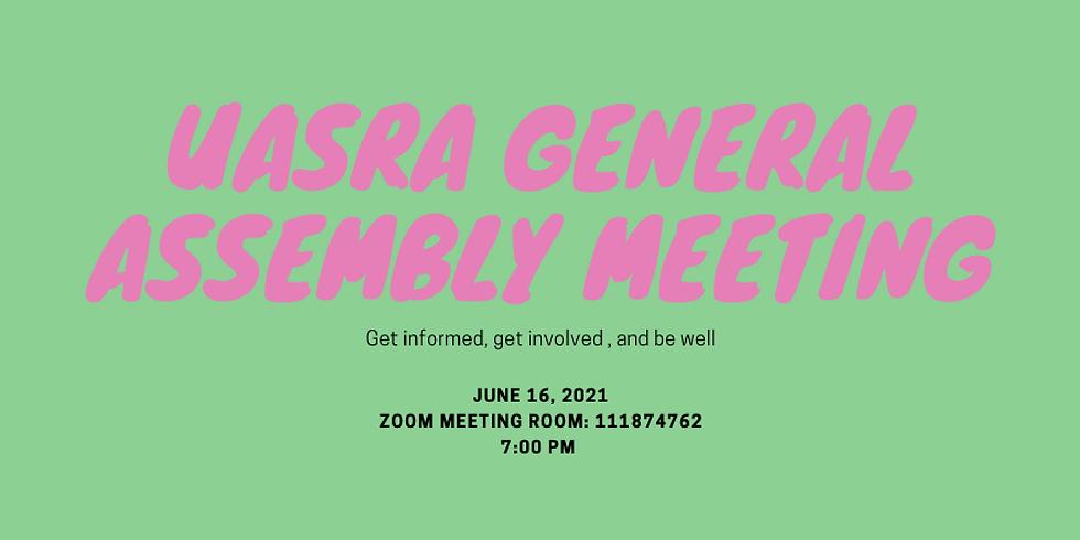 June-UASRA General Assembly Meeting