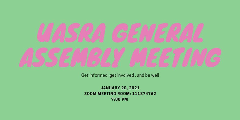 January-UASRA General Assembly Meeting