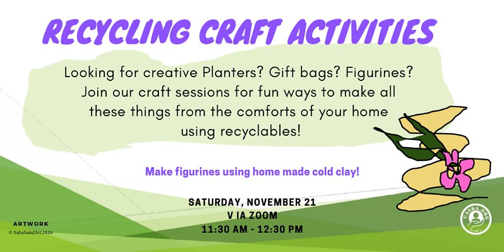 Zoom Recycling-Craft activities- Figurines