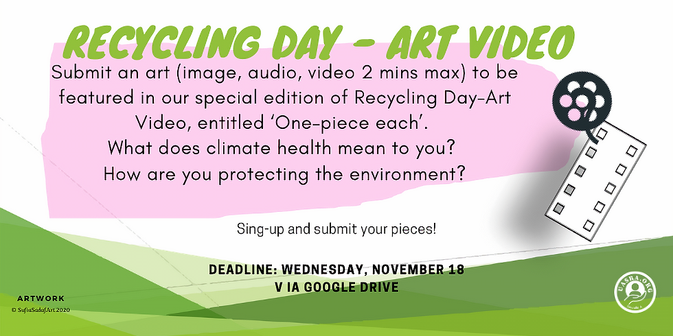 Recycling Day Art-Video