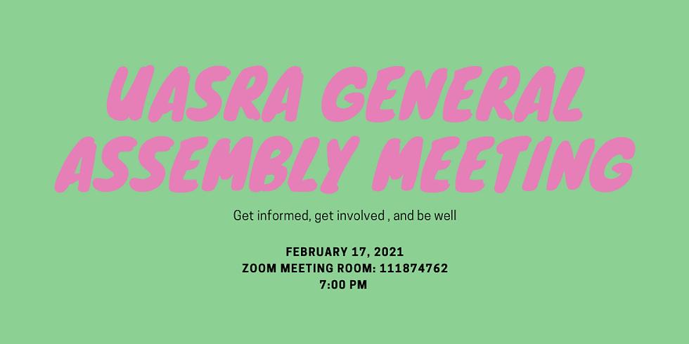 February-UASRA General Assembly Meeting